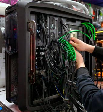 Обслуживание компьютера в офисе