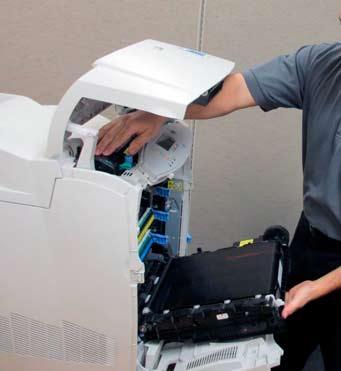 Принтер обслуживание