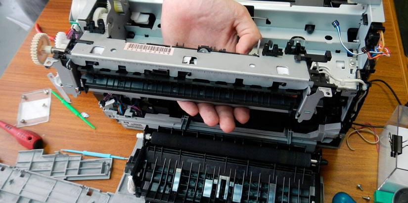 Ремонт и обслуживание принтера HP