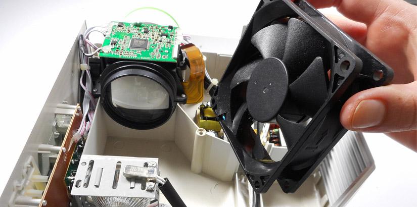 Проектор выводит тусклое изображение / ремонт проекторов в СПб